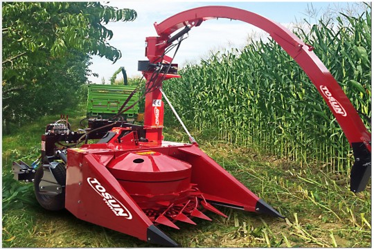 2 Row-Row Independent Maize Chopper - Tosun Farm Machines Izmir