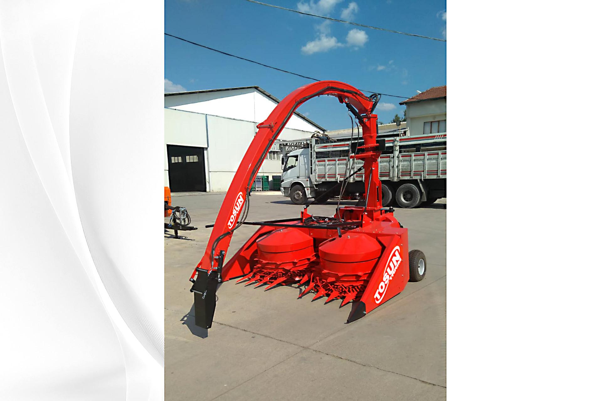 3 Row-Row Independent Maize Chopper - Tosun Farm Machines Izmir
