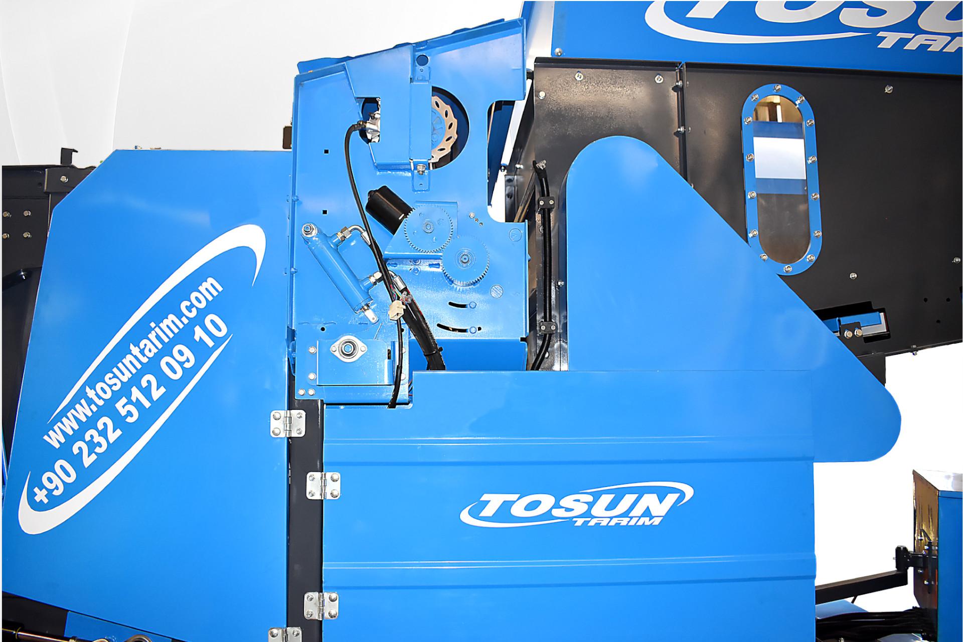 85Dx85 Kombine Silaj Paketleme Makinesi - Tosun Tarım Makinaları İzmir