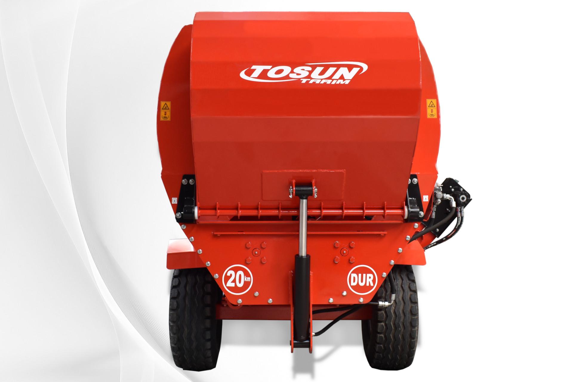 Horizontal Feed Mixer 4 m3 - Tosun Farm Machines Izmir