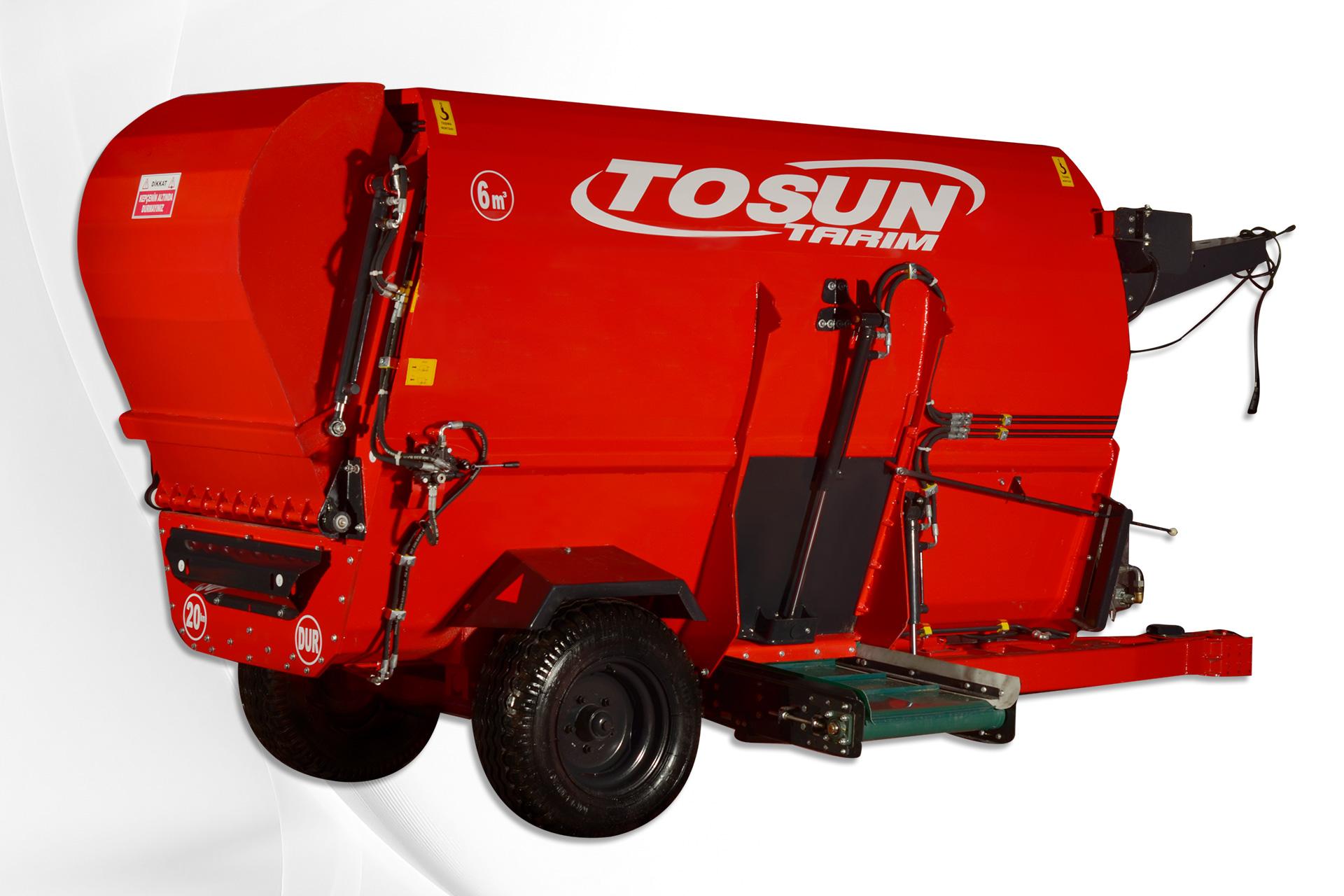 Horizontal Feed Mixer 6 m3 - Tosun Farm Machines Izmir