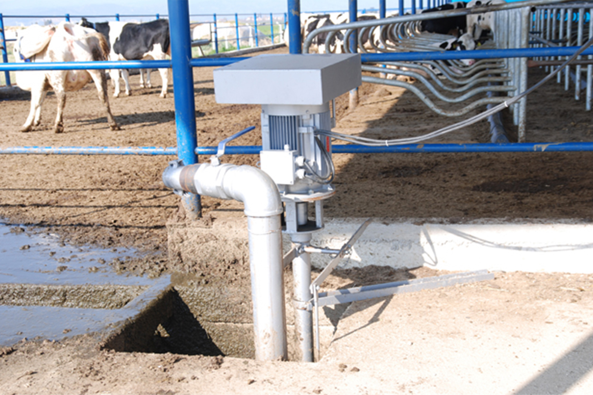 Manure Pump - Tosun Farm Machines Izmir