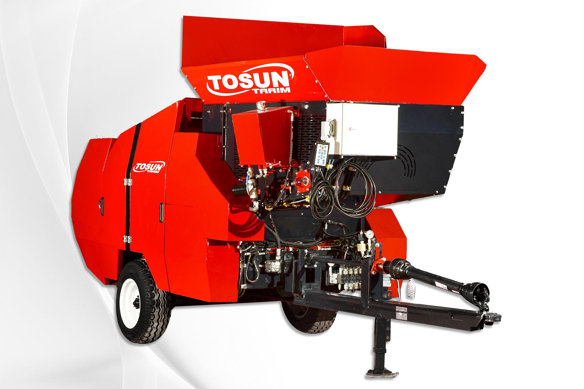 Mobile Silage Round Baler - Tosun Farm Machines Izmir