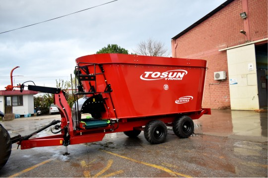 Vertical Feed Mixer 20 m3 - Tosun Farm Machines Izmir
