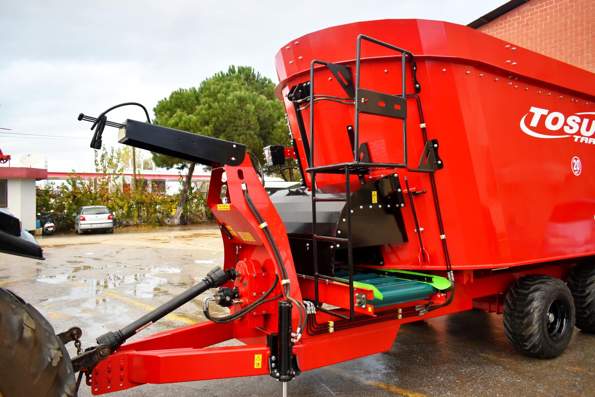 Vertical Feed Mixer 20 m3 - Tosun Farm Machines Izmir