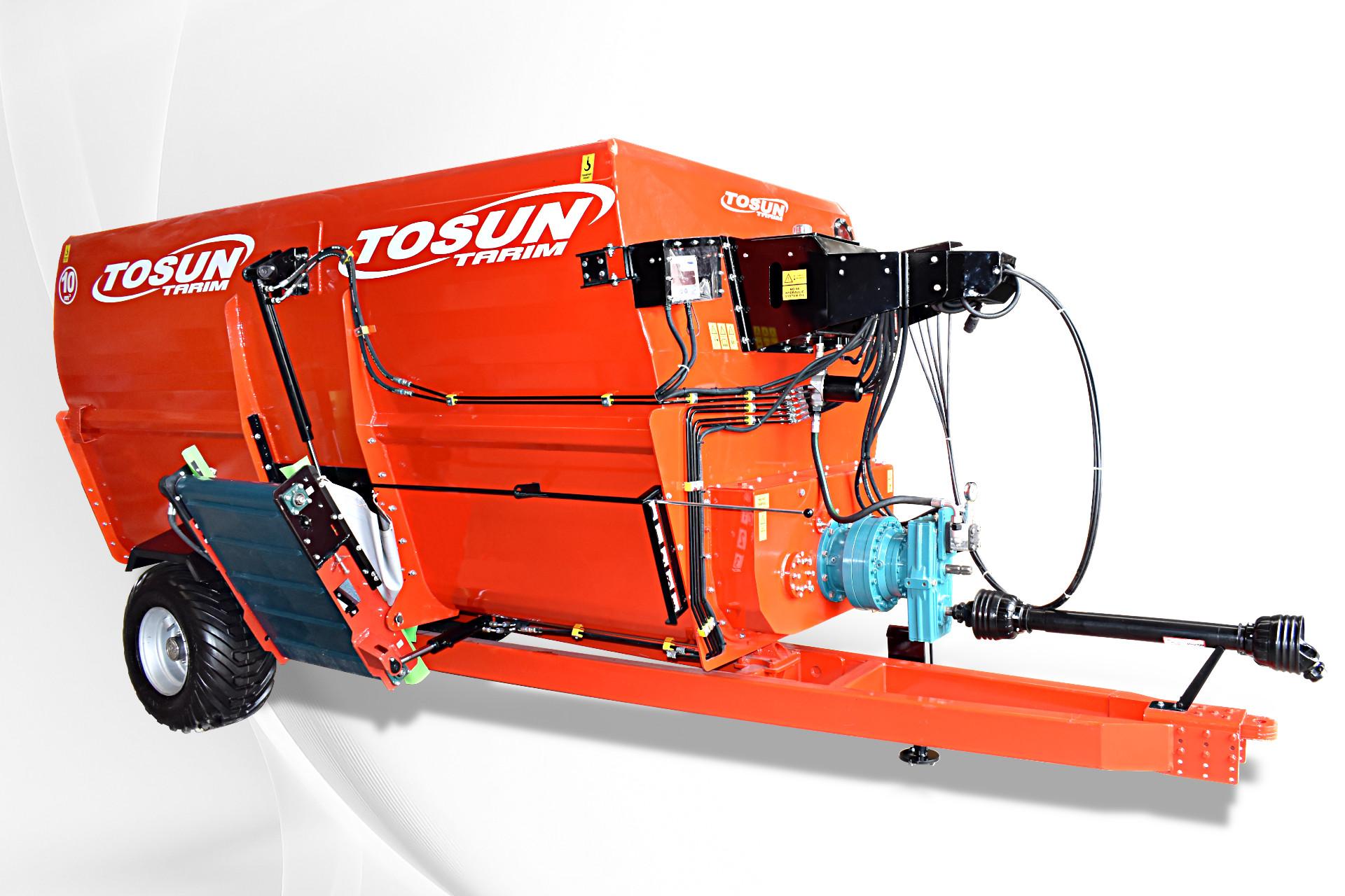Yatay Yem Karma Makinası 10 m3 - Tosun Tarım Makinaları İzmir