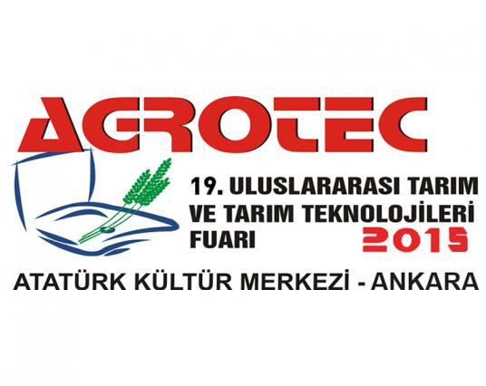 Agrotec Tarım Fuarı 2015